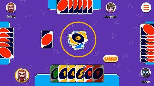 game bài UNO online